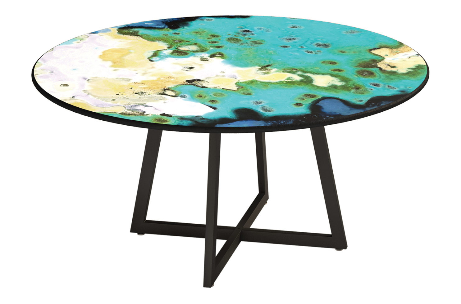 Etna Dining Round Table