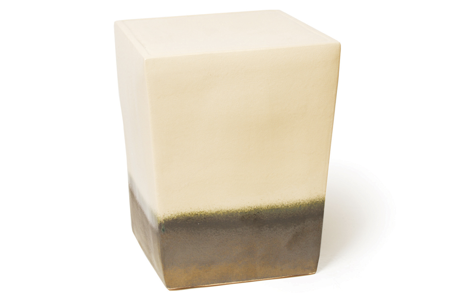 Ceramic Squarecube White Metallic 308FT228P2WM
