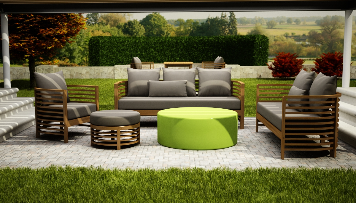 High quality outdoor furniture for your home oasis - Luxury Outdoor Furniture Decorating Tips For Patios Outdoor Trends