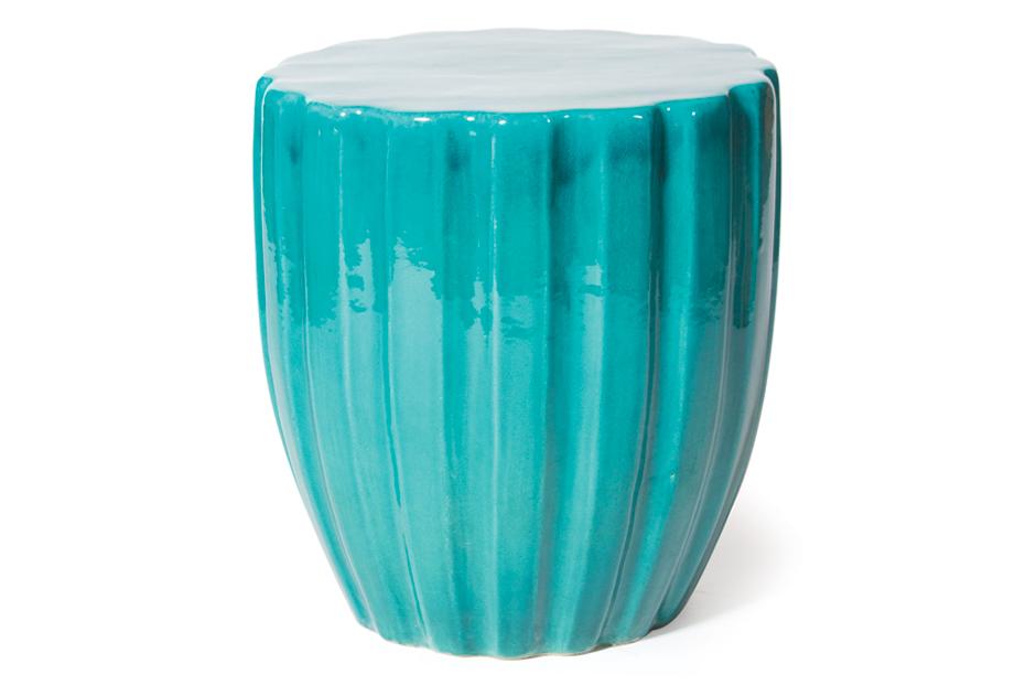 Ceramic  Scallop  308FT310P2AM, Aquamarine