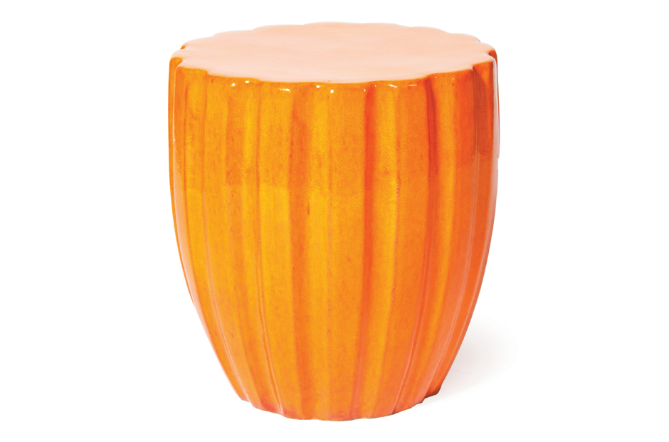 Ceramic  Scallop  308FT310P2O, Orange