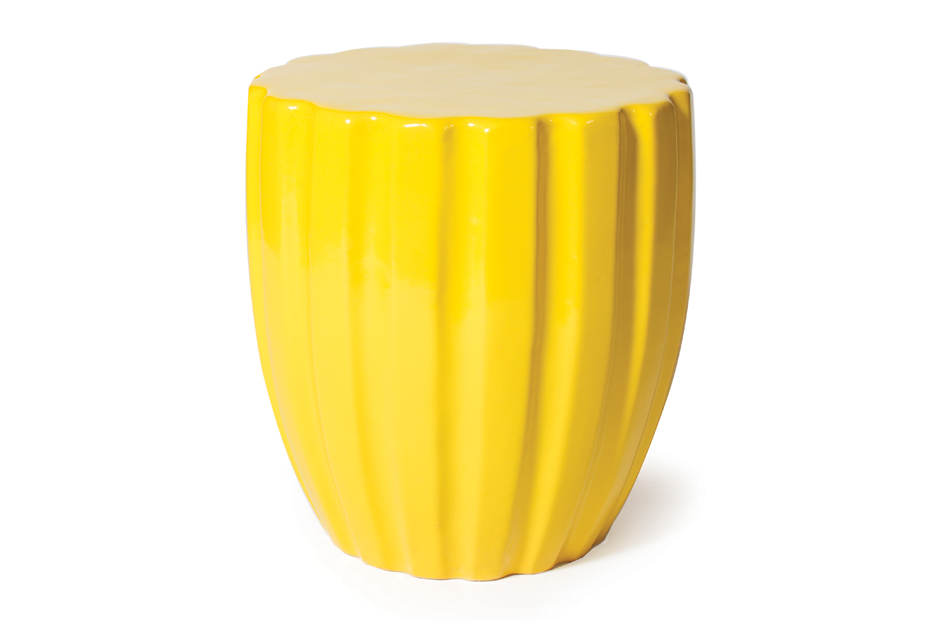 Ceramic  Scallop  308FT310P2Y, Yellow
