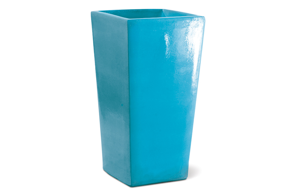 Vases  English Planter  308GU367P2TB, Turquoise Blue