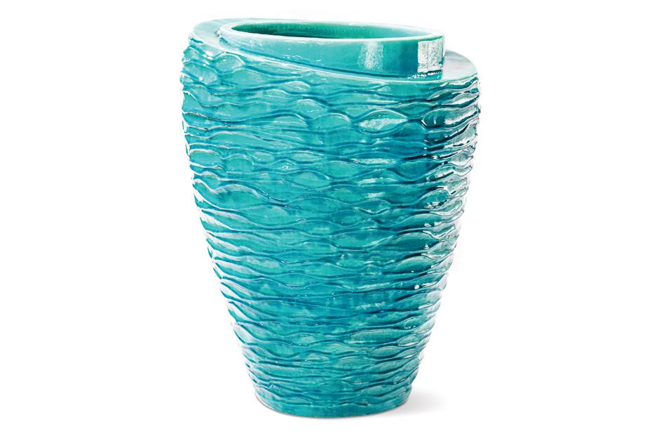 Vases  Tranche  308GU363P2AM, Aquamarine