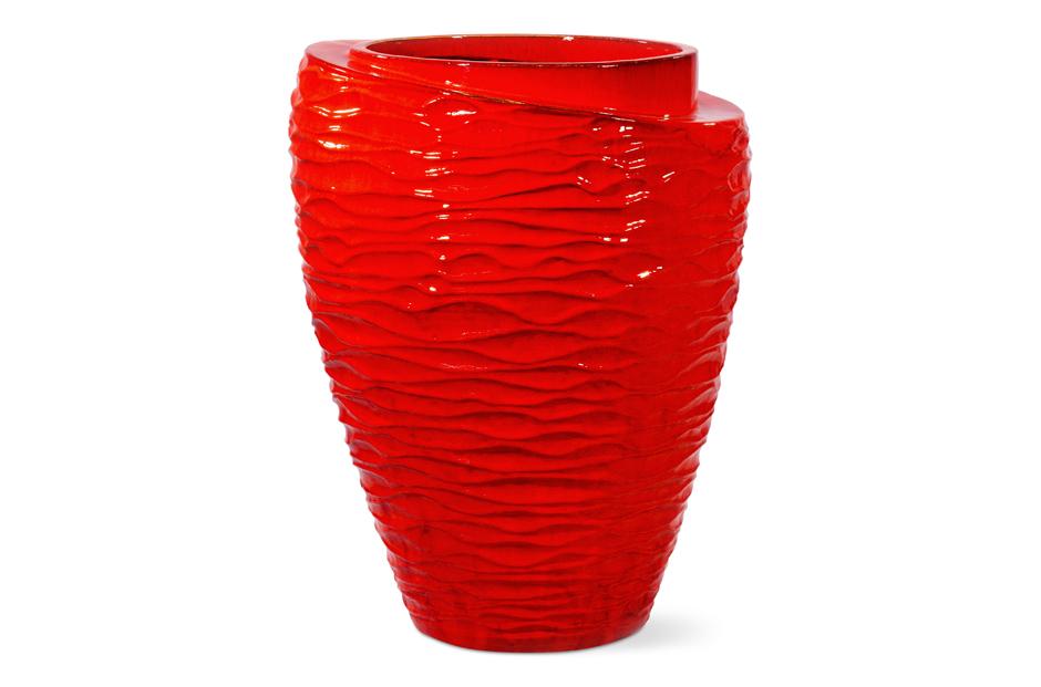 Vases  Tranche  308GU363P2R, Red
