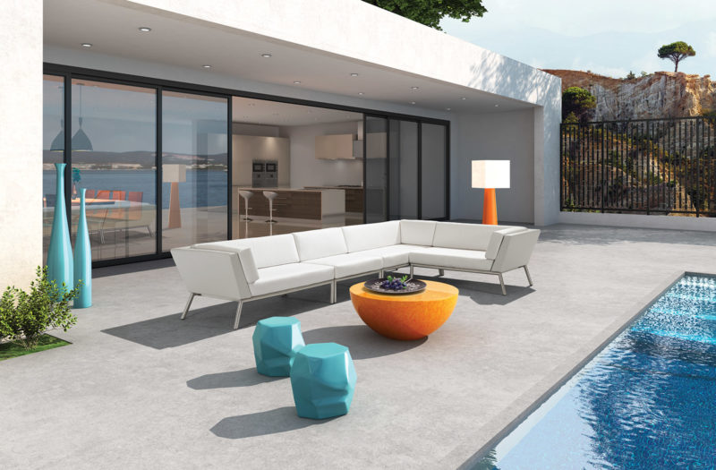 Seasonal living achieves special mention distinction for for Outdoor furniture austin