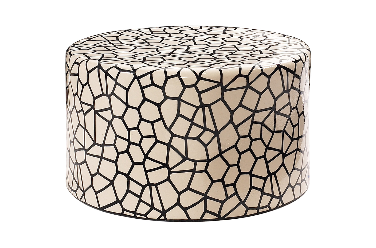 Incroyable Ceramic Artisan Series Baby Caroness Accent Table