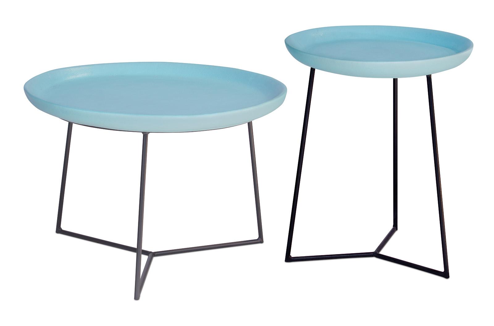 Ceramic Link Accent Table Set - Seasonal Living