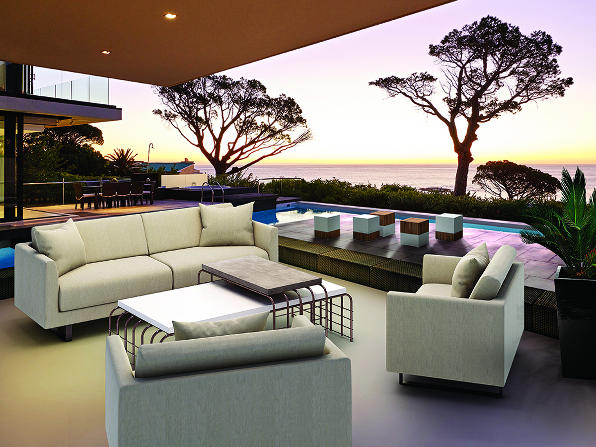 Modern Luxury Indoor-Outdoor Furniture & Decorative ... on Fine Living Patio Set id=80073