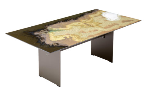 Etna Rect Table Taupe 801FT002P2MS 2