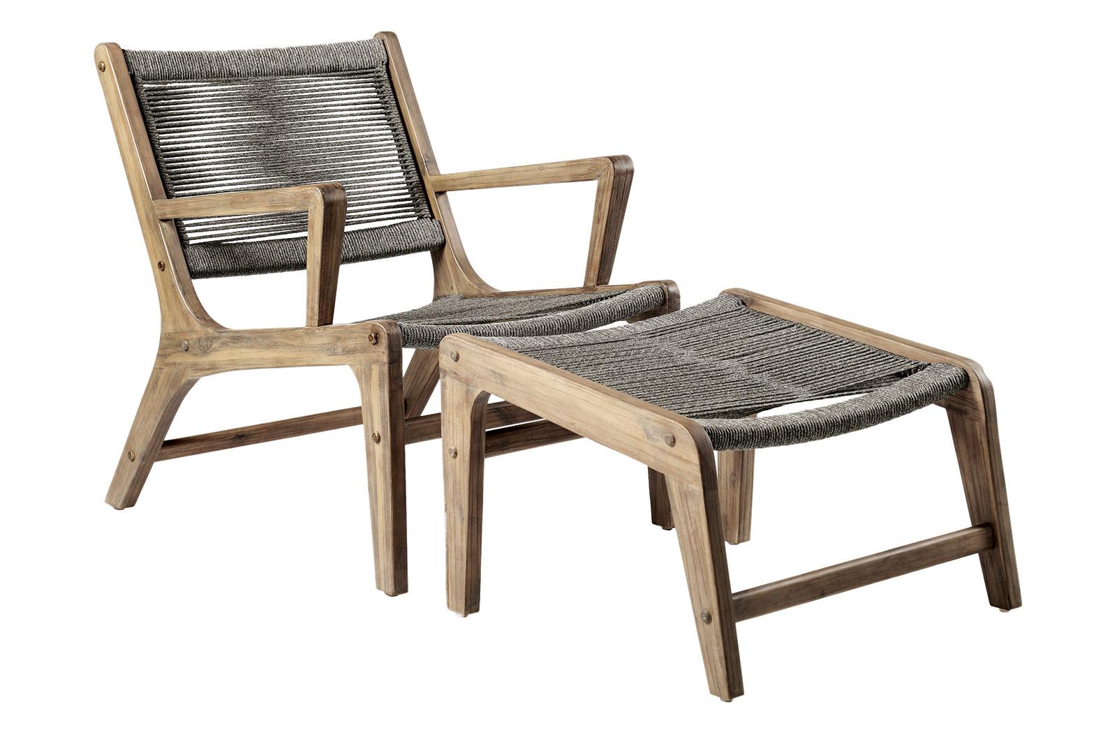 Superieur Explorer Oceans 2 Lounge Chair + 2 Ottoman Set