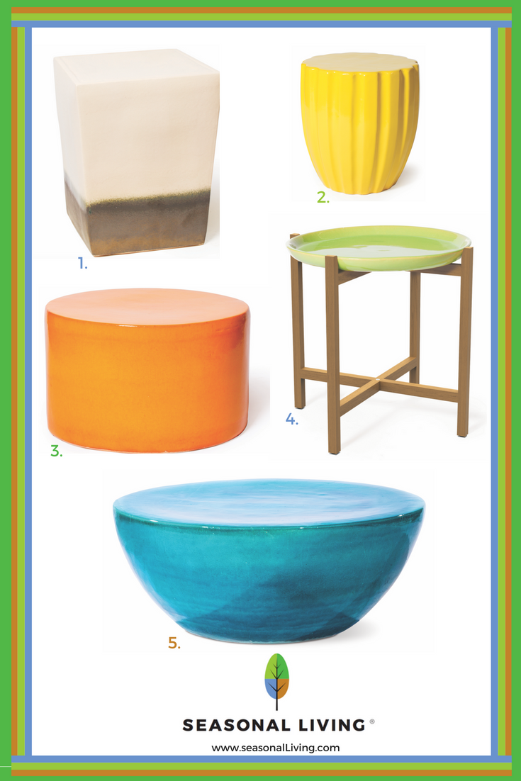 Best Outdoor Occasional Tables and Stools From www.seasonalliving.com