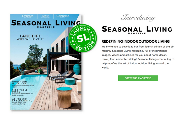 seasonal living magazine