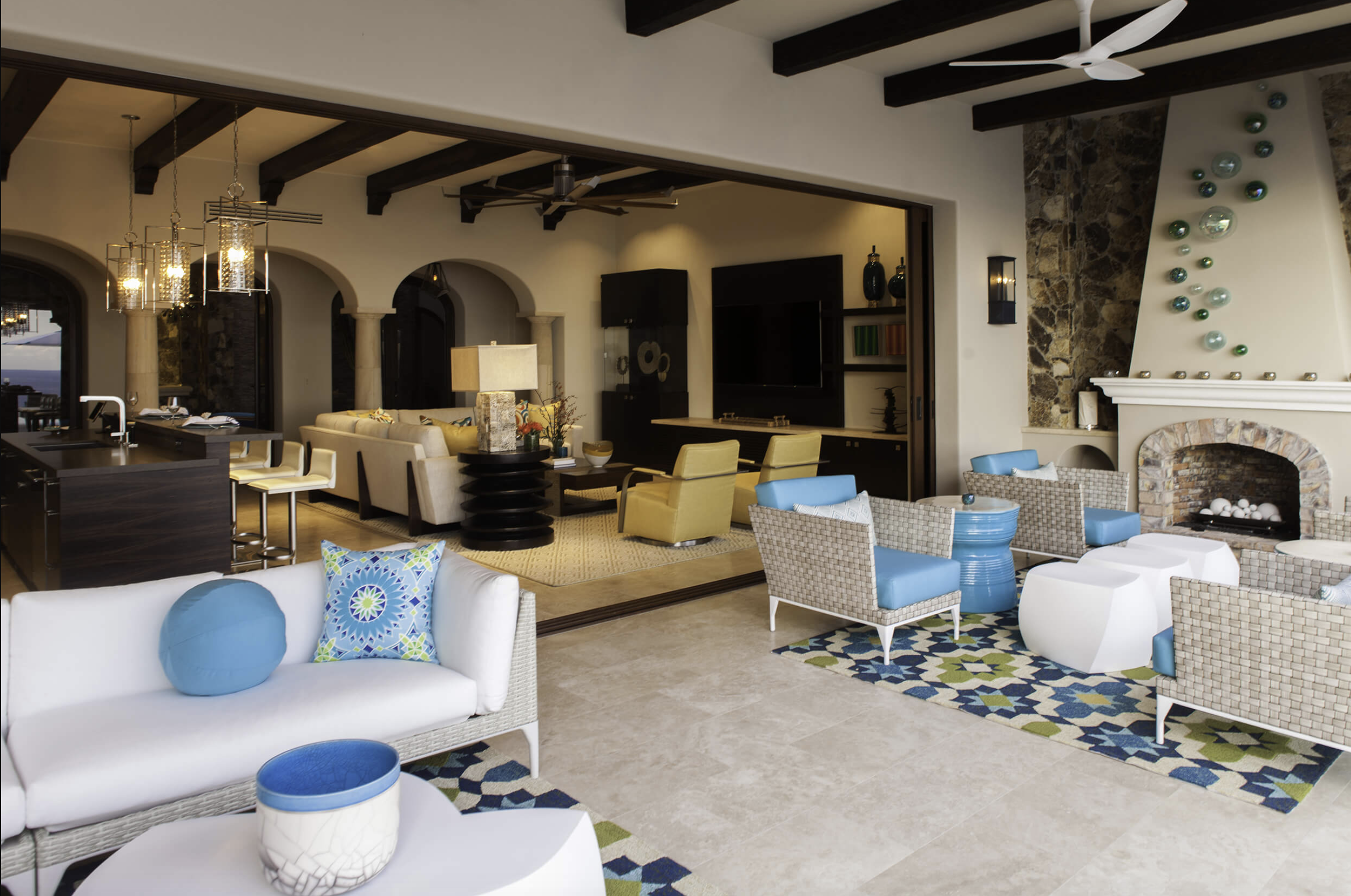The best hospitality design in Cabo San Lucas, Mexico. Lynn Yellen of Resort Design Group
