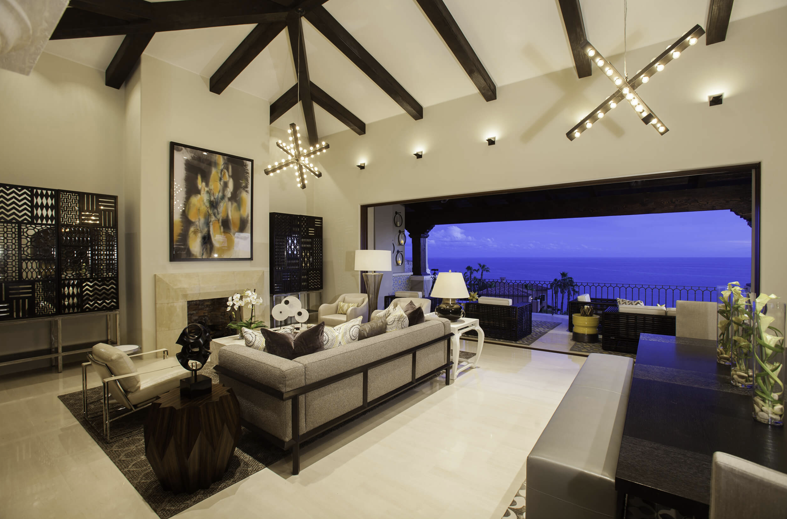 Most beautiful resort properties in Cabo San Lucas Mexico, design: Lynn Yellen of Ladco's Resort Design Group