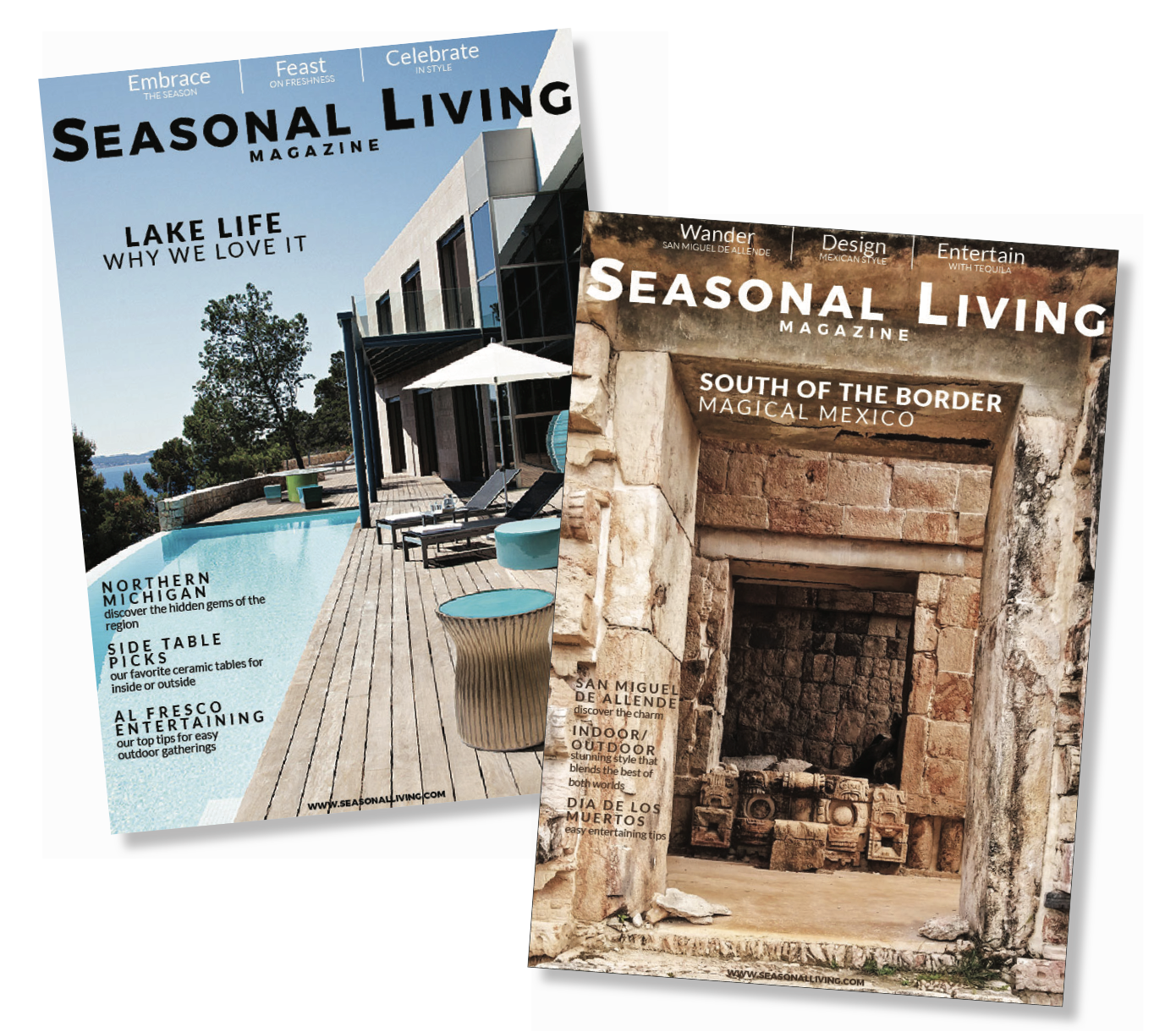 best online magazines for home decor - Seasonal Living Magazine