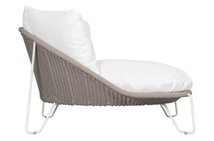 Archipelago Aegean Daybed 620FT022P2CWT 1 side