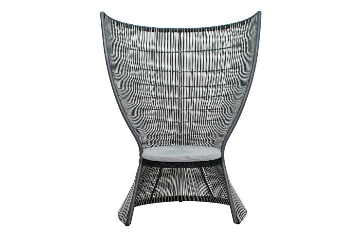 Archipelago Nicobar Chair 620FT006P2DGED 1 front