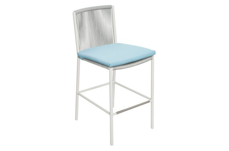 Archipelago Stockholm Counter Chair 620FT045P2CWD cushion 1 3Q