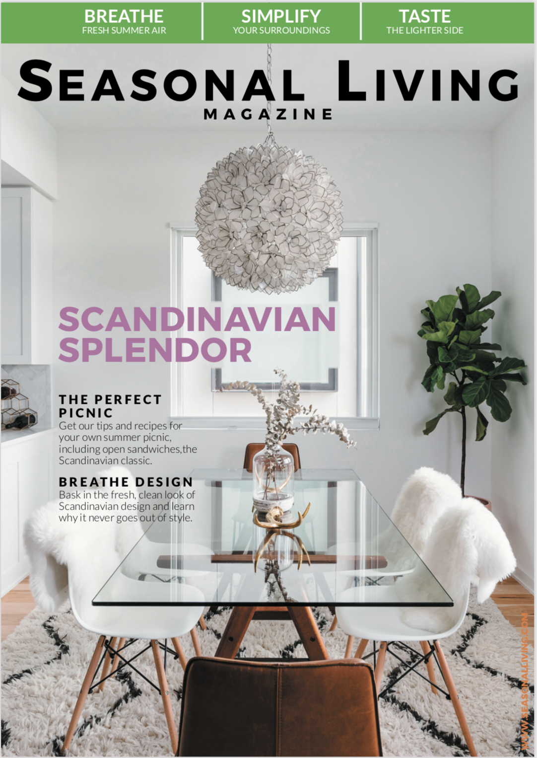Seasonal Living Magazine Scandinavia