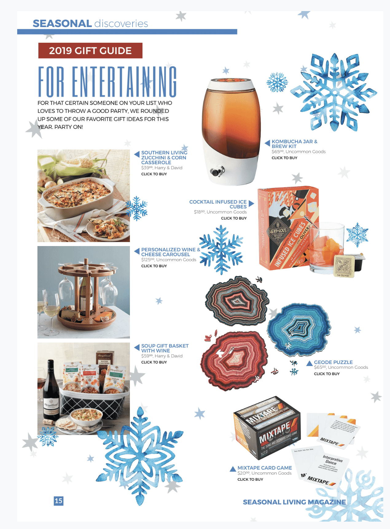 Holiday Entertaining Gift Ideas