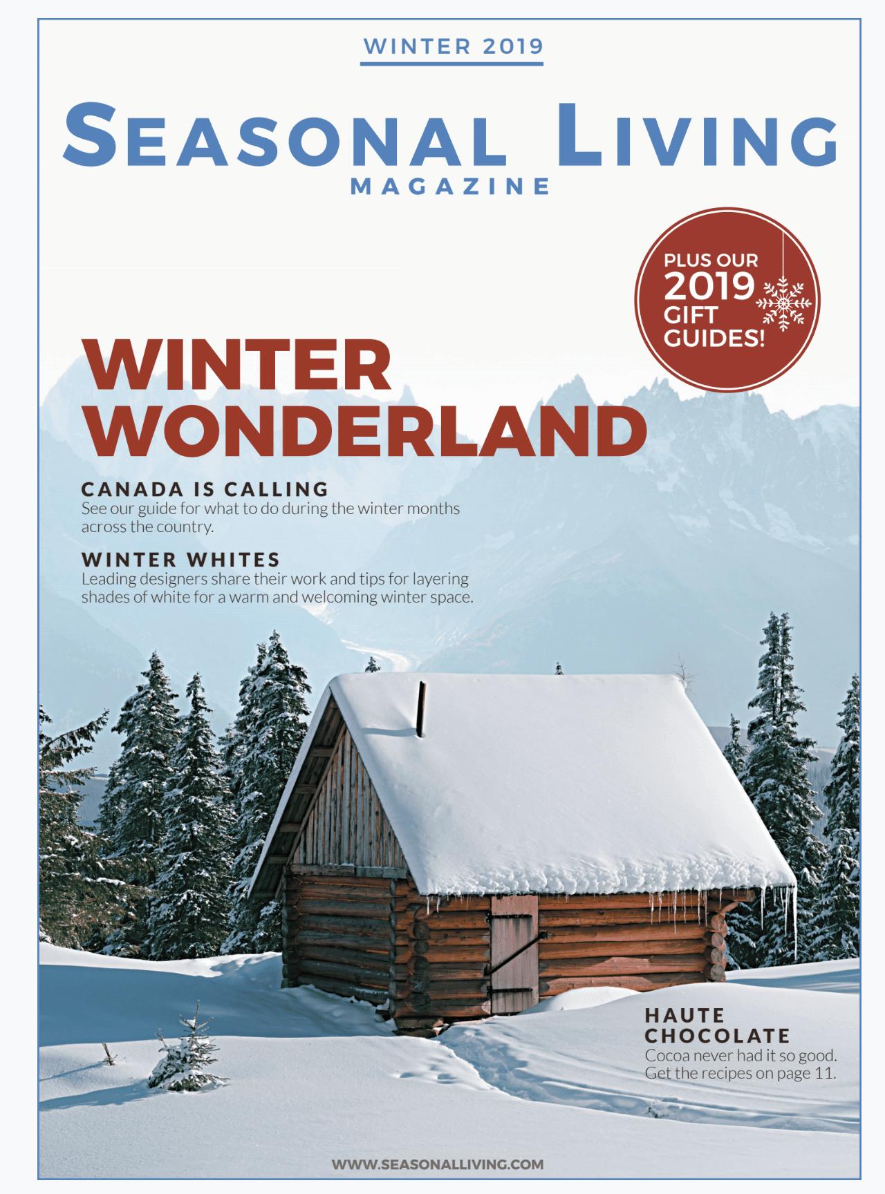 Seasonal Living Magazine Best New Digital Lifestyle Magazines