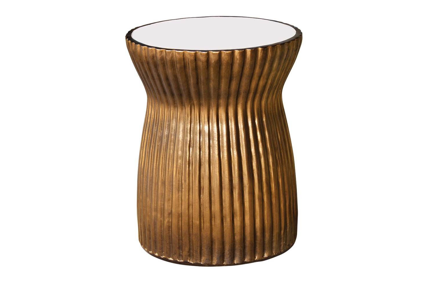 Ceramic ridged stool 308FT226P2SWG