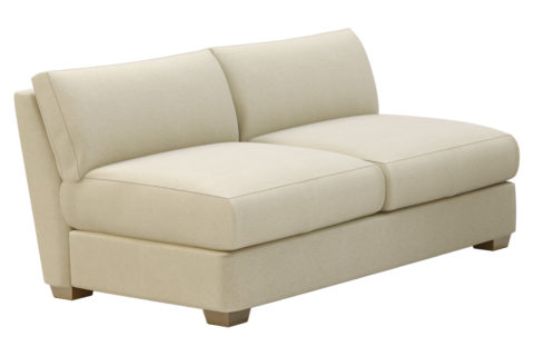 fizz imperial armless apartment sofa 105FT004P2 SAS