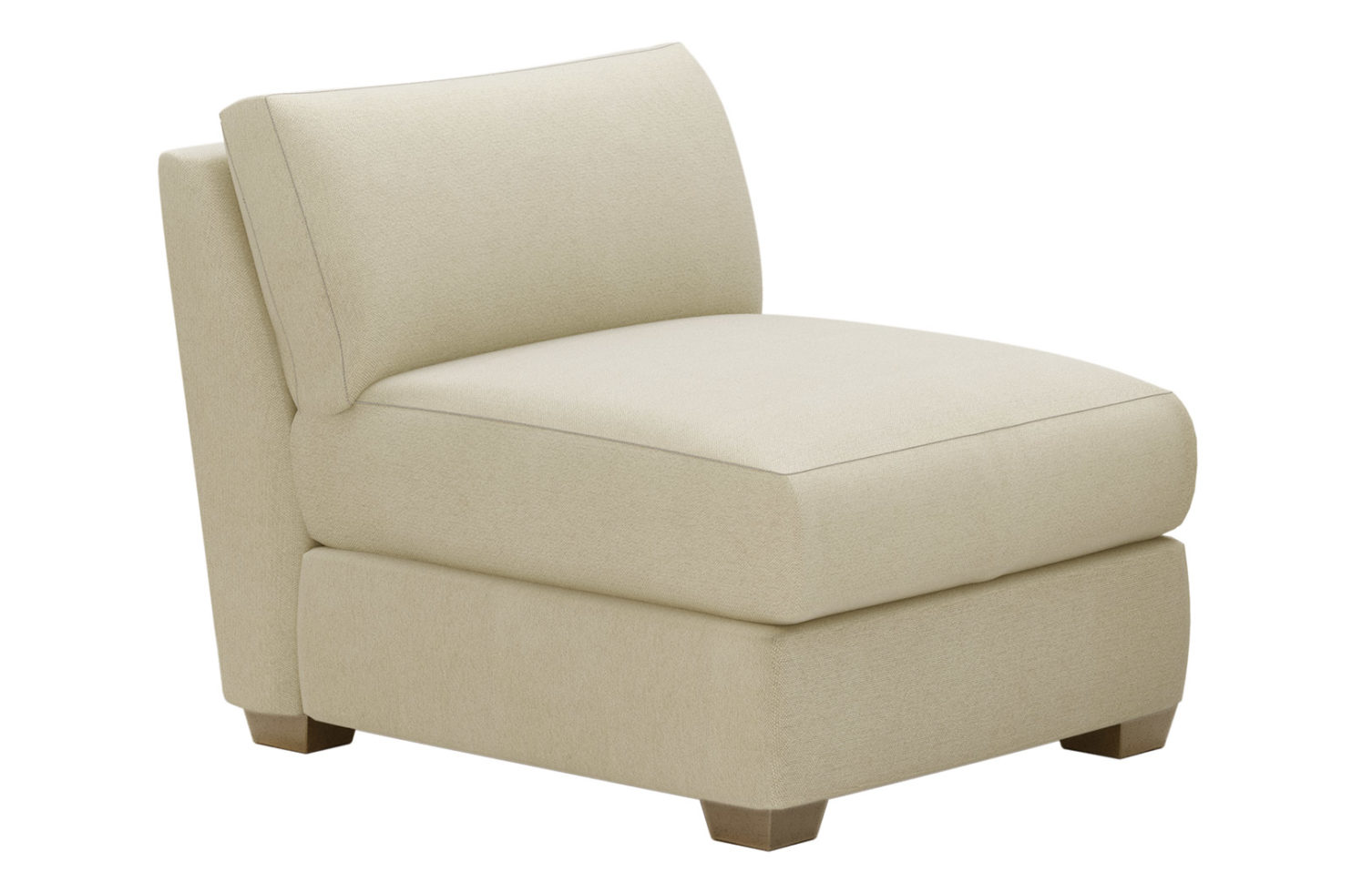 fizz imperial armless chair 105FT004P2 SSA
