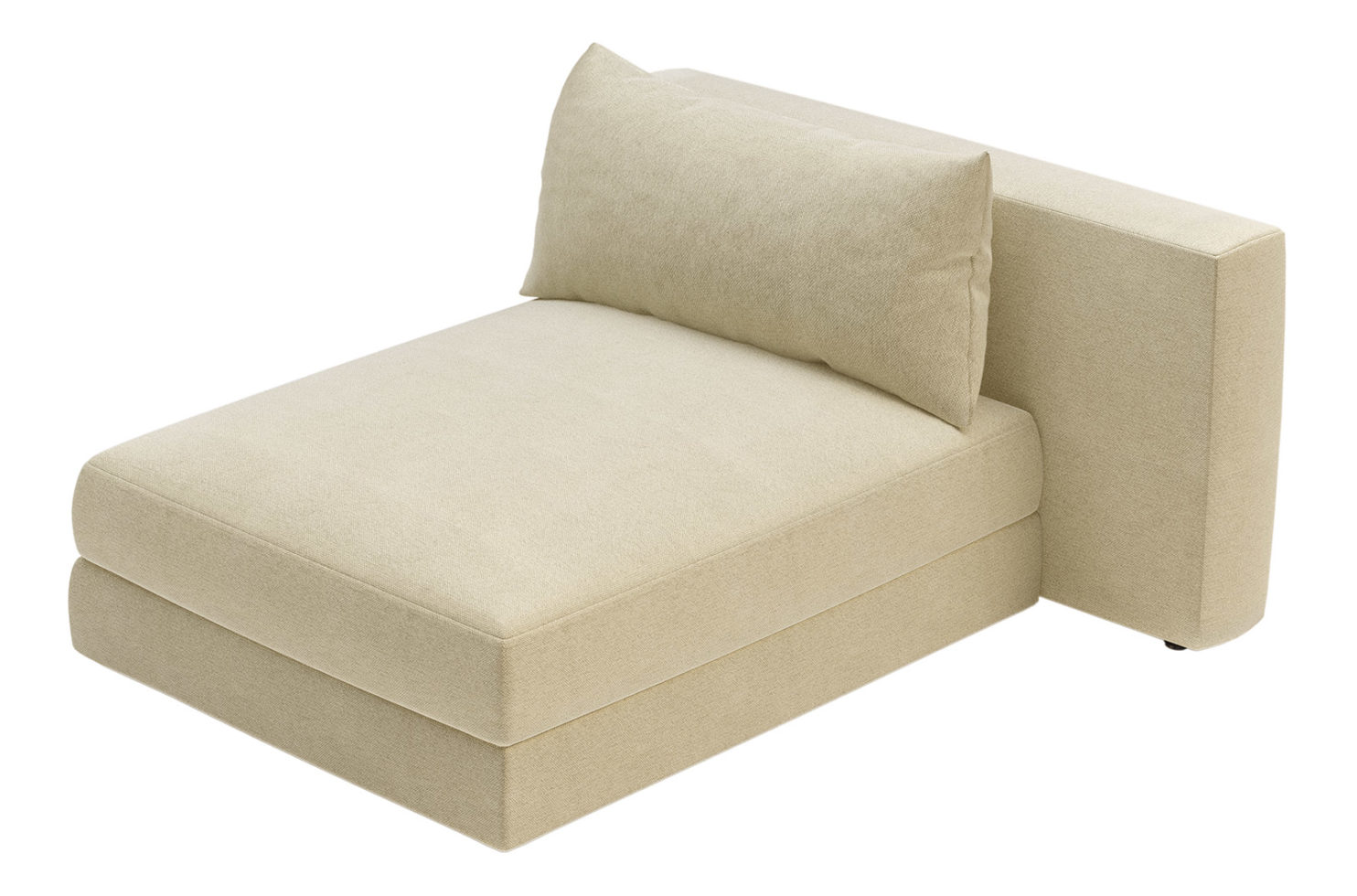 fizz julep armless chaise 105FT002P2 RSA