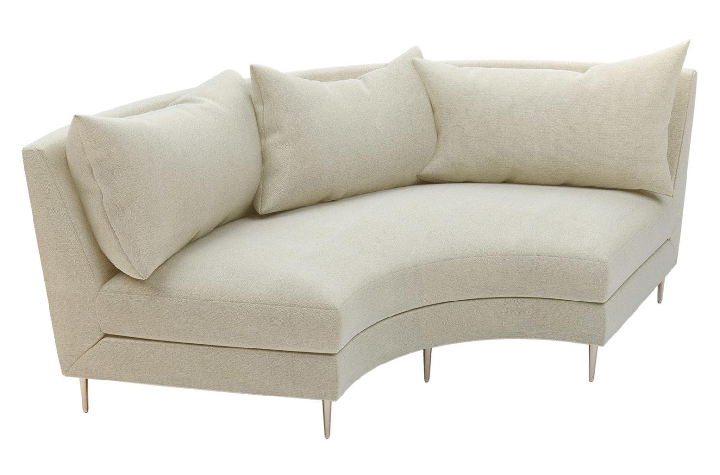 fizz mimosa armless sofa 105FT003P2 AS