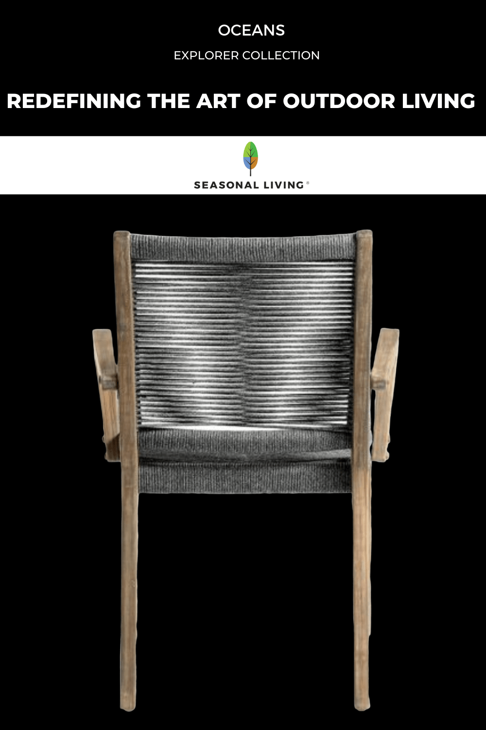 Seasonal Living's Explorer Collection, OCEANS Dining Chair