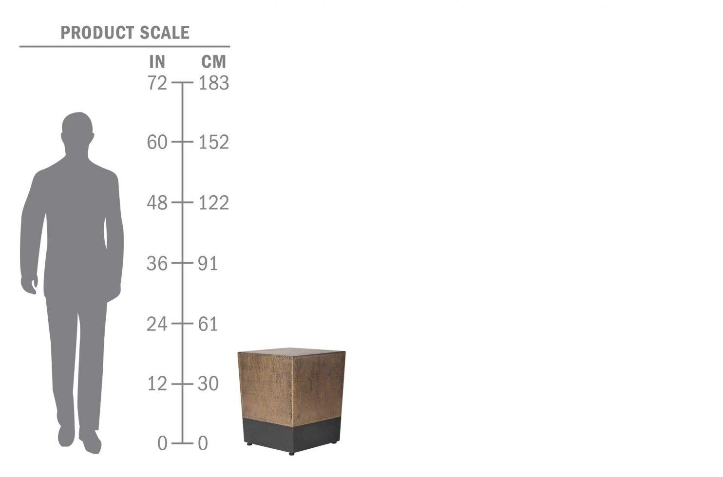ingot cube 520FT006P2AB scale human