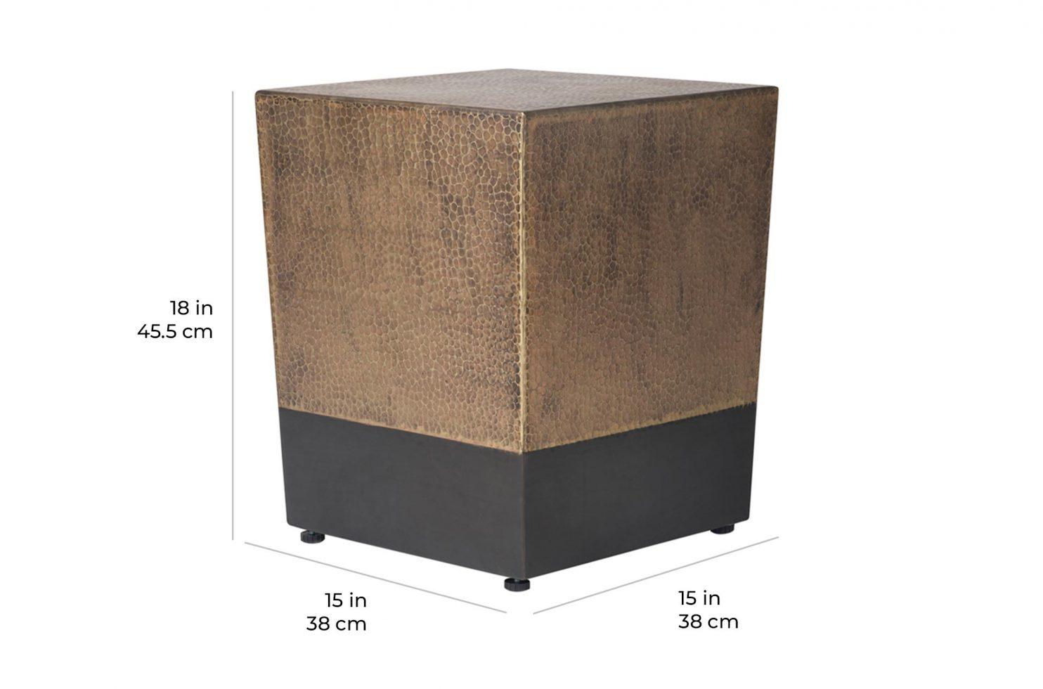 ingot cube 520FT006P2 scale dims
