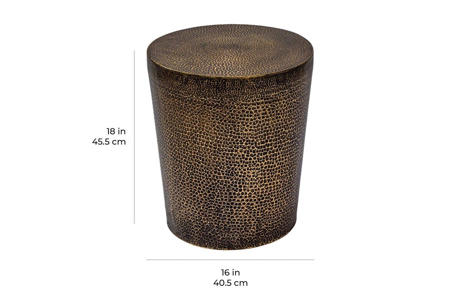 ingot ore table 520FT002P2 scale dims